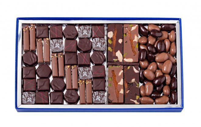 La Maison du Chocolat -Coffret T3 ouvert - 74€