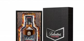 Coffret Ballantine's Hard Fired