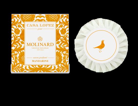 Mandarine savon Molinard x Casa Lopez