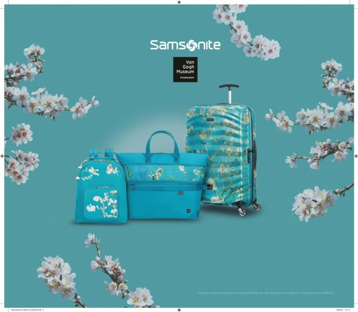 Collection capsule Samsonite x Van Gogh Museum