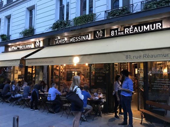 Façade Restaurant Les amis de Messina
