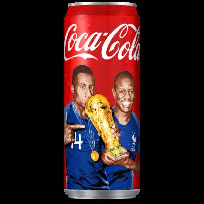 coca-cola-canette-champions-du-monde-équipe-de-france-2018 matuidi kanté