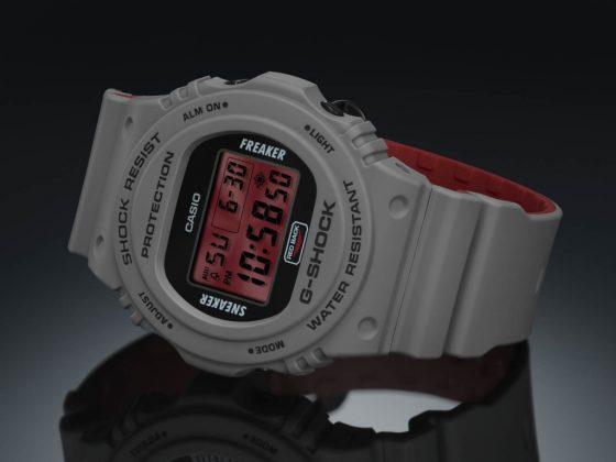 Sneaker Freaker x G-SHOCK « Redback » DW-5700