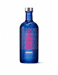 édition limitée Absolut Vodka