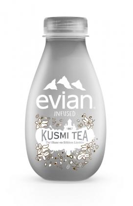édition limitée evian infused x Kusmi
