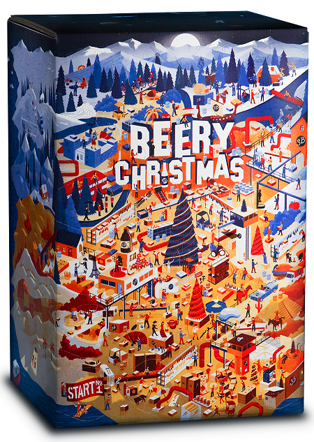 Calendrier de l'avent Beery Christmas