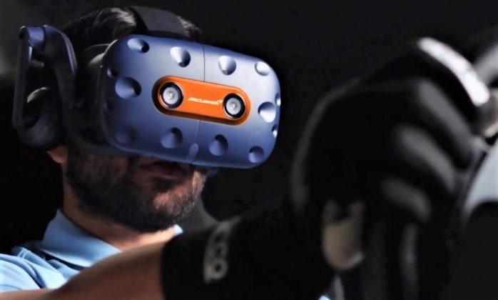 Jeu en édition limitée HTC Vive McLaren