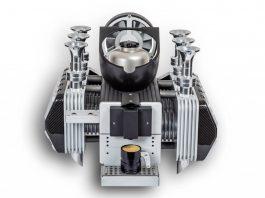 Super Veloce Porsche Engine Coffee Espresso Machine