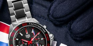 Edition limitée Tag Heuer x % Max Verstappen