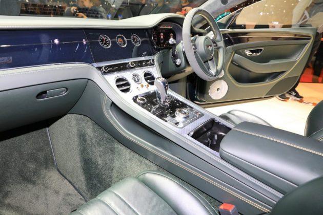 Edition limitée Bentley coupé Continental GT numéro 9