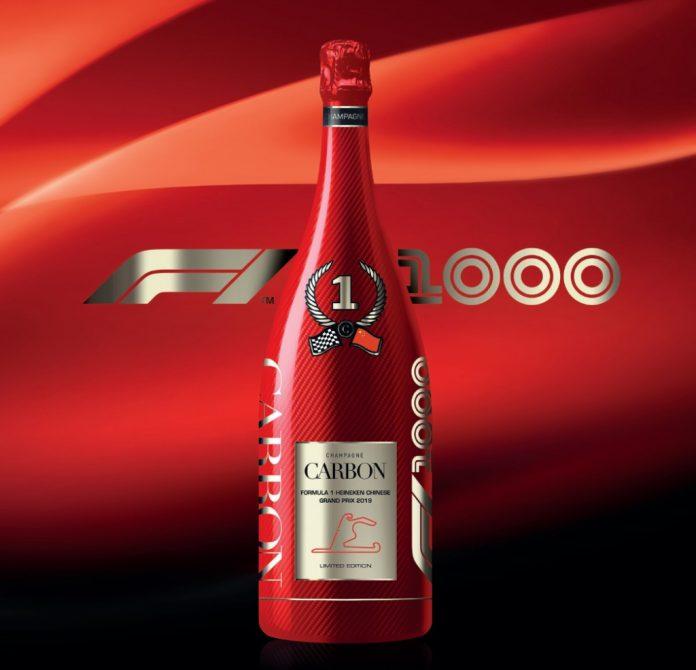 Champagne Carbon 2019 - édition limitée F1