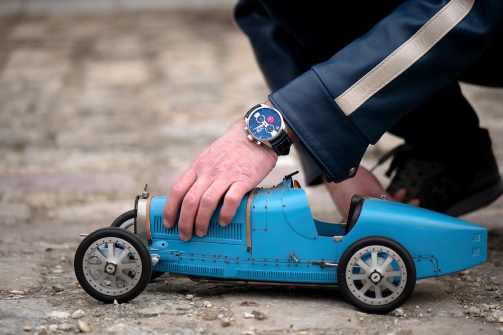 L'horloger Raidillon pour les gentlemen-drivers en série