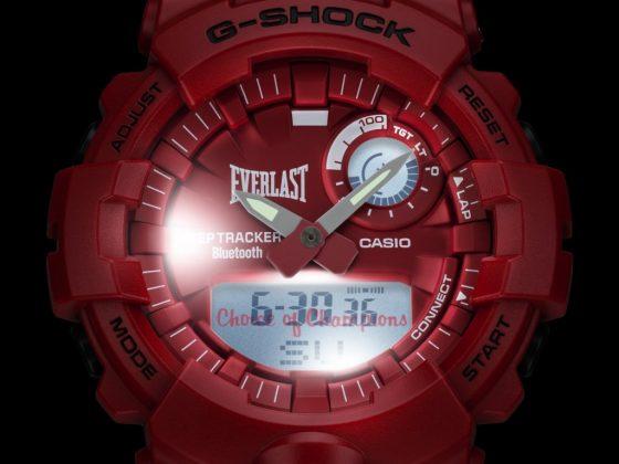 GBA-800EL - G-Shock et Everlast