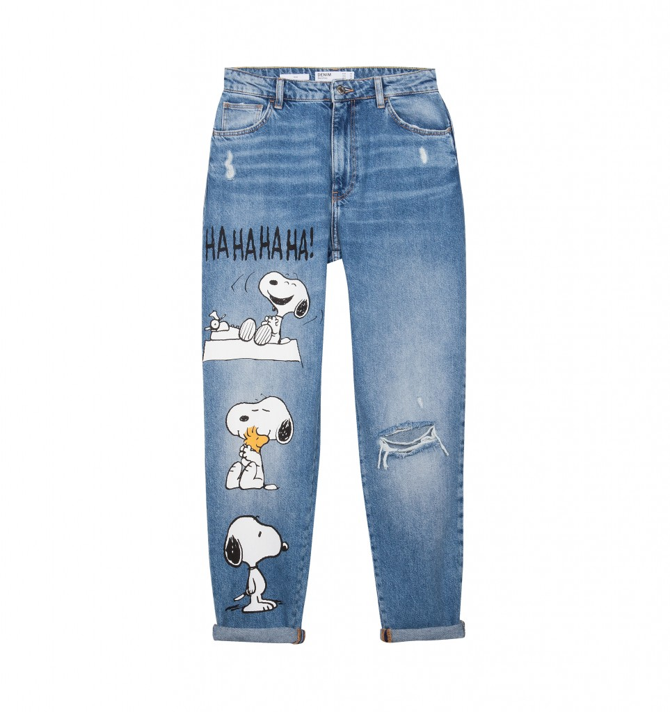 collection capsule Peanuts by Bershka
