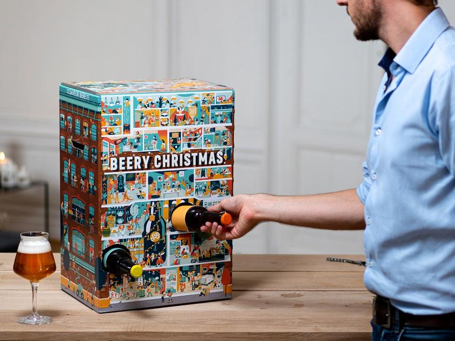 Calendrier de l'Avent Saveur Bière