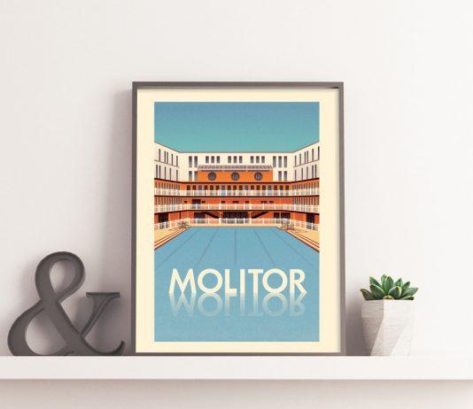 Affiche Molitor - Paul Nox