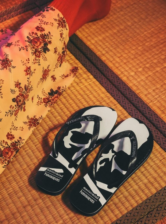 Tong Havaianas x mastermind JAPAN