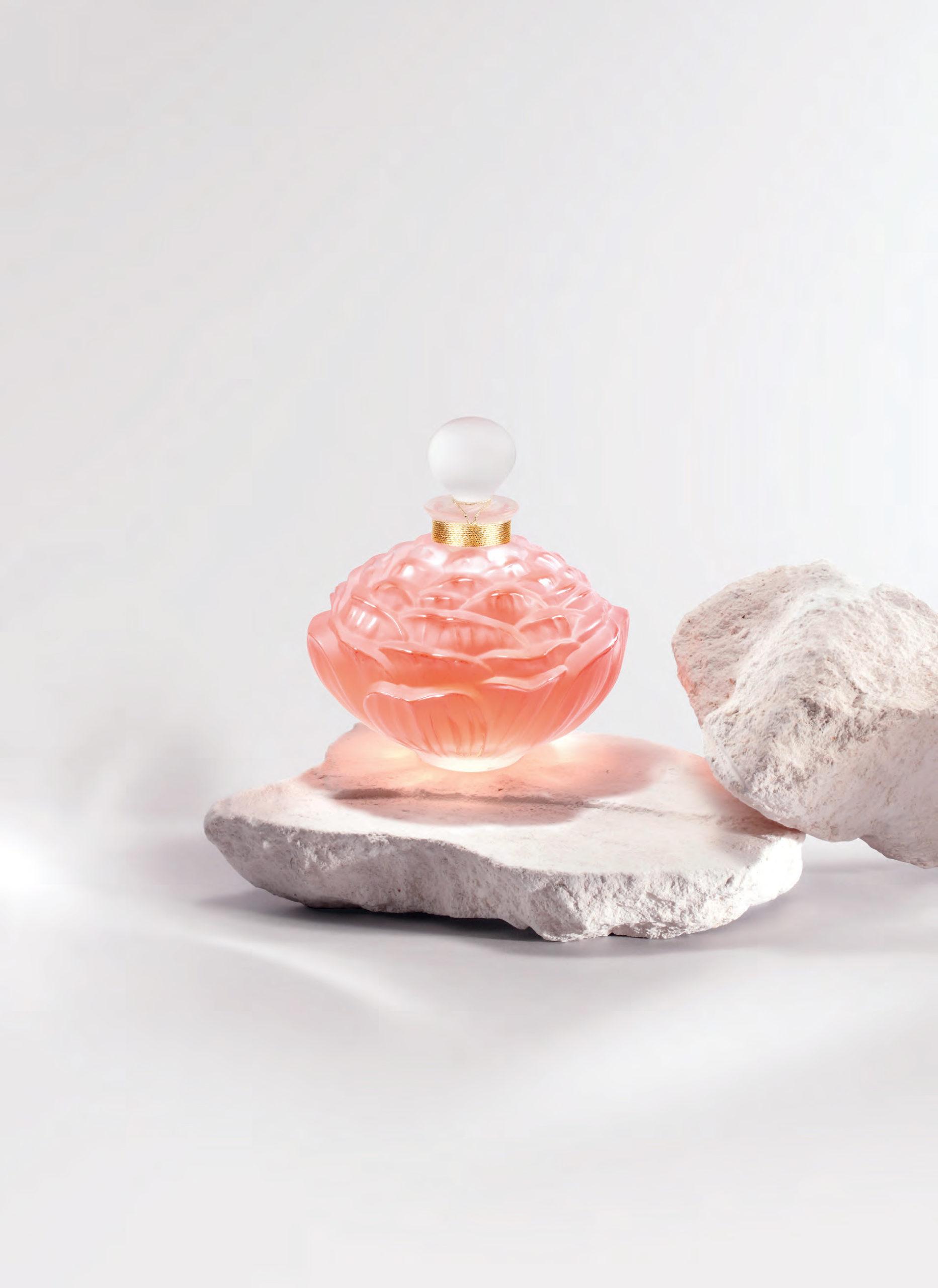 Lalique Édition limitée Pivoine