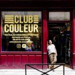 Devanture Pop-Up Store Club Couleur