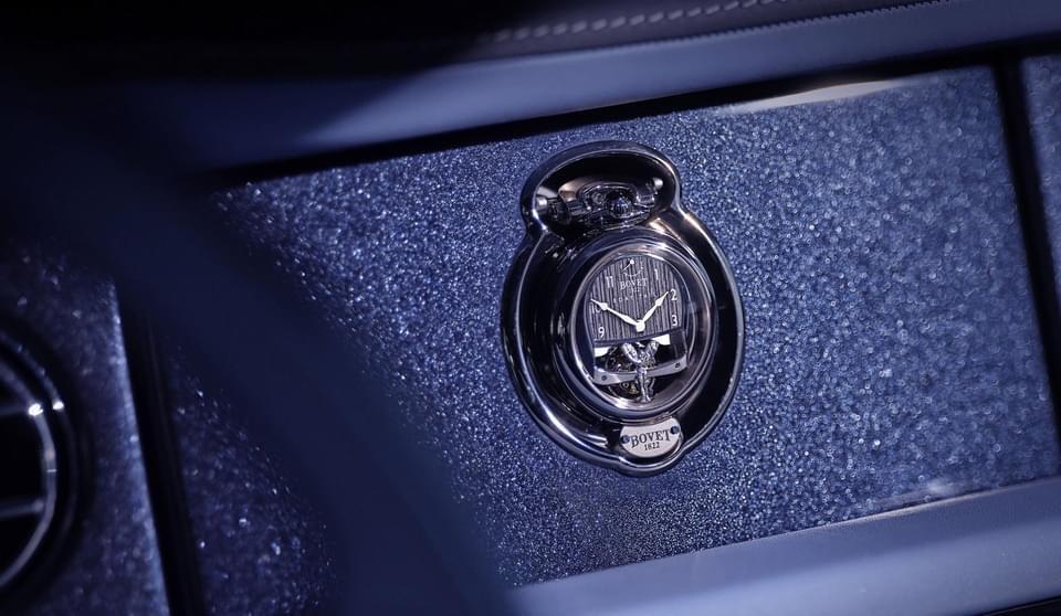 Montre Rolls Royce - Bovet 1822
