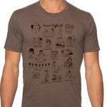 Tee-shirt Collector François Truffaut par Nathan Gelgud édition limitée