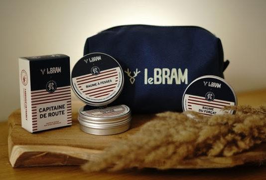 packaging trousse cosmétiques bio LeBRAM X Clean Hugs